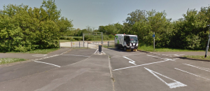 Recreation ground. Rarely used (except for roadsweepers?). The humps don't meet the kerbs making for a bumpy ride. [Source; Google Streetview]